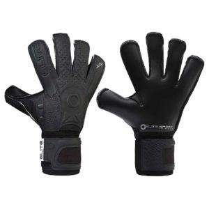 Профессиональные вратарские перчатки Elite Black Solo
