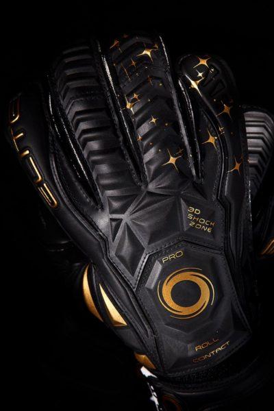 Профессиональные вратарские перчатки Elite Black Real