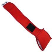 Профессиональные вратарские перчатки Elite Neo Red — ремешок