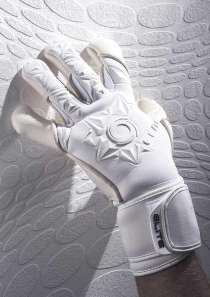 Профессиональные вратарские перчатки Elite Neo White