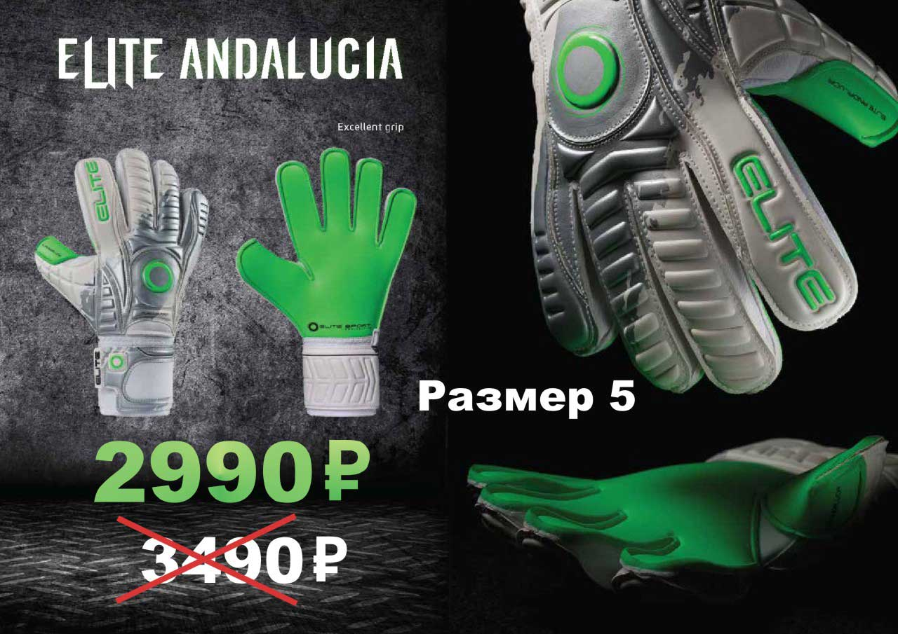 Вратарские перчатки Elite Andaluscia 2019