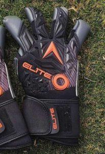 Профессиональные вратарские перчатки Elite Titanium Orange