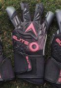 Профессиональные вратарские перчатки Elite Titanium Pink