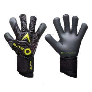 Профессиональные вратарские перчатки Elite Titanium Yellow